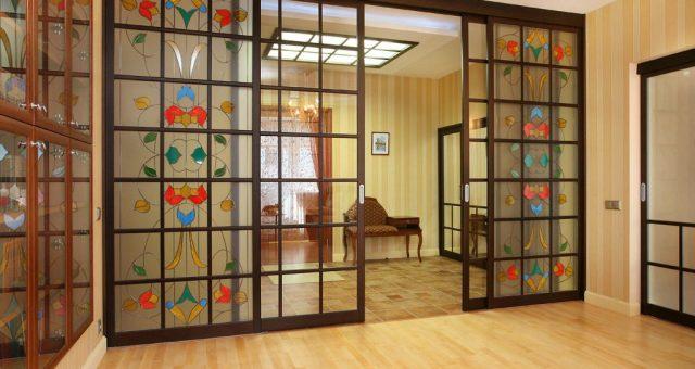 Выбор межкомнатных раздвижных дверей